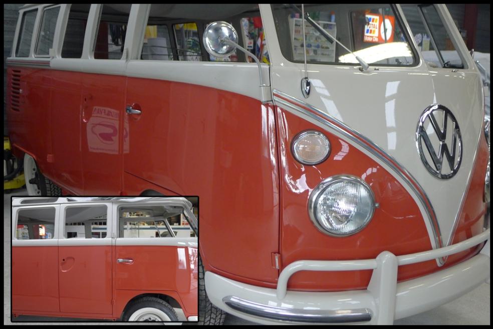 vw bus t1 1963 garage normandie. Black Bedroom Furniture Sets. Home Design Ideas